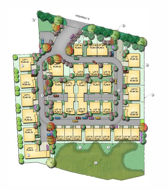 Hacienda Property Proposed Housing Development   Monte Sereno, CA ...
