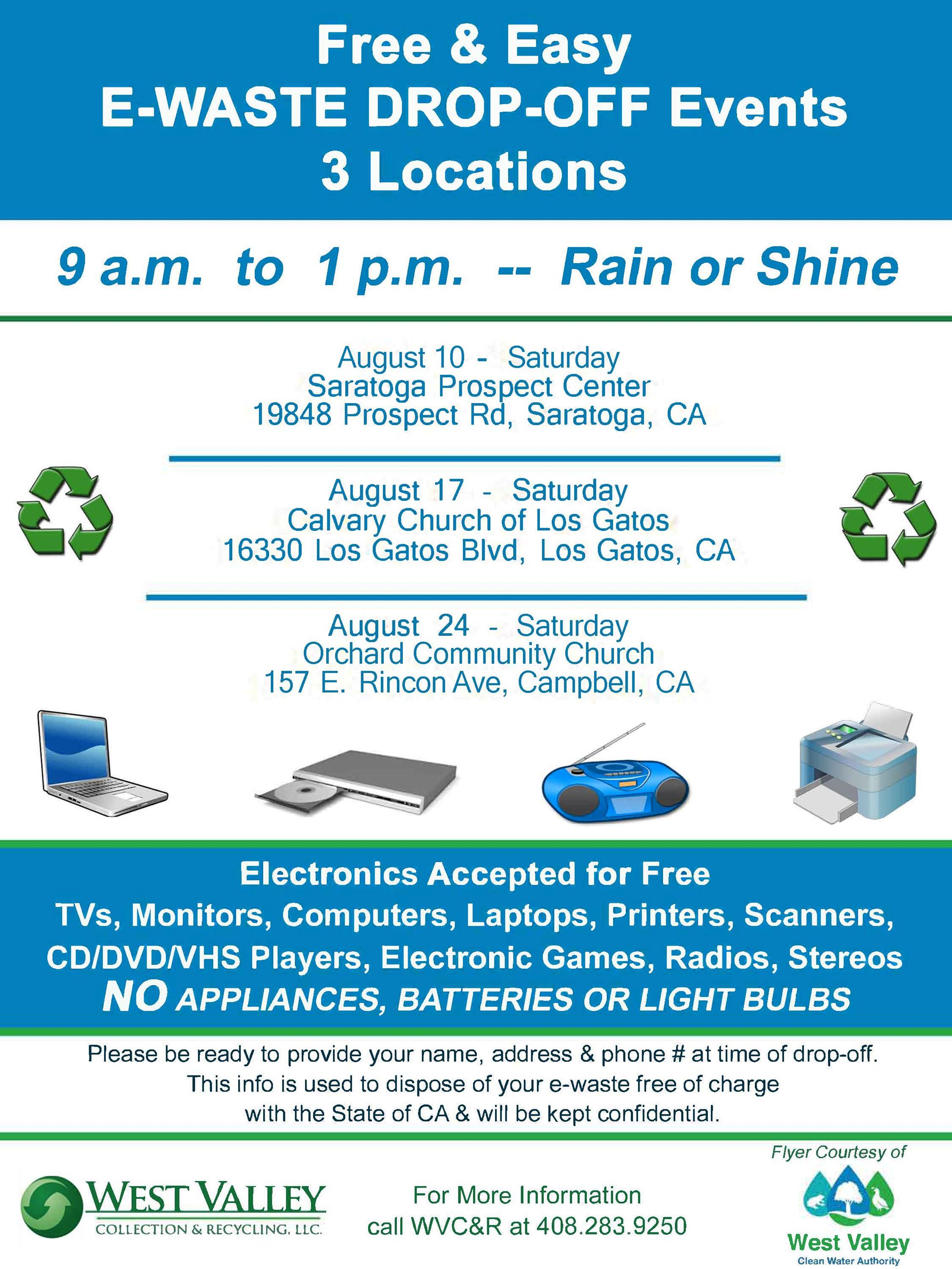 WVCR E-Waste_August 2019_FLYER