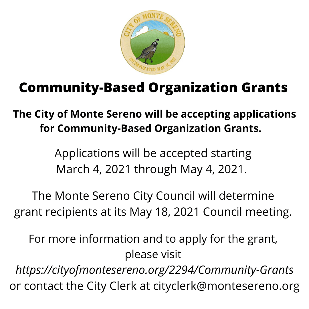 Community-Based Organization Grant Policy and Application Information